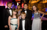 (Denver, Colorado, Nov. 1, 2008) The Children's Hospital ambassadors:  Austin Peterman, Emily...