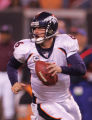 (CS1131) Jay Cutler scrambles in the third quarter of the Denver Broncos against the Cleveland...