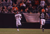 (CS1638) Eddie Royal runs for a touchdown in the fourth quarter of the Denver Broncos against the...