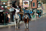 Steve McEnroe/Journal staff: The country music duo Big & Rich ride down Deadwood's Historic...
