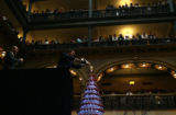 (PG2664) Brown Palace Hotel managing director Marcel Pitton pours champagne at the 21st Annual...