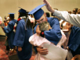 On June 10, 2005, 71 high school students, 119 GED students, and 650 vocational students graduated...