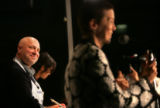 BG1316 Chef Tom Colicchio listens to a very kind introduction by Food and Wine Magazine Editor in...