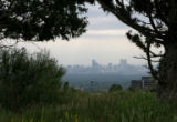 An ozone alert is expected today in Denver, looking from the west, June 16, 2008. Ozones cant be...