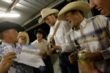 DM1857  Long after the band packed up and went home a group of cowboys pull out a guitar and make...