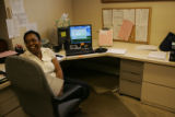 Debra Winn (cq) a paralegal at Mills and Weitzenkorn, P.C. came into her office Monday morning and...