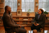 HISTORY DETECTIVES host Tukufu Zuberi talks with contributor Marcie Waterman Murray, who owns an...