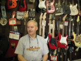 Mike Landie, co-owner of Wedgle's Music and Loan Inc., is selling the business that has been in...