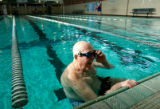 (173)  Pete Donahue at the Fitzsimons Pool in Aurora, Colo., on Monday, Nov. 17, 2008. Pete...
