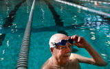 (212)  Pete Donahue at the Fitzsimons Pool in Aurora, Colo., on Monday, Nov. 17, 2008. Pete...