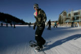 (568)  Wes Cummings, of Santa Ana, Calif., on opening day at Winter Park Resort in Winter Park,...