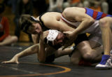 Kate Szrom/Special to the Rocky Mountain News  Caption: Lakewood High School's Justin Frazier,...