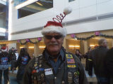 bill cahal at the annual Children's Hospital Toy Run.