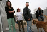 MJM430 Freedom Service Dogs, Inc. workers, Heather Brown (cq), left to right, Briana Bove (cq),...