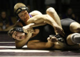 Class 5A Jefferson County League wrestling, Pomona's Jimmy Beard seems to be where Arvada West's...