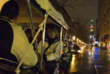 (519) People indulge their holiday spirit as they enjoy the Christmas lights of the Larimer...
