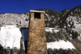 Christina Capasso Special to The Rocky Mountain News The chimney and recent snowfall on the roof...