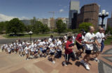 The 21st annual 2005 Law Enforcement Torch Run for Special Olympics Colorado ran through the...