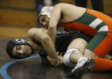 In Class 5A non-league wrestling in the 130 wt Adams City Eagle's Aaron Ortiz won Westminster's...