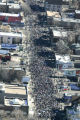 Thousands march down Colfax Avenue in the annual Martin Luther King Jr. Marade Monday  January 19,...