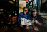 Dave Deno (at left) took over as the new CEO as Quiznos just as the financial crisis was...