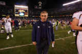(0023) Mike Shanahan against the San Diego Chargers at Qualcomm Stadium in San Diego, Calif., on...