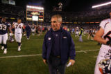 (0024) Mike Shanahan against the San Diego Chargers at Qualcomm Stadium in San Diego, Calif., on...