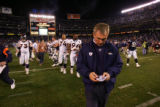 (0028) Mike Shanahan against the San Diego Chargers at Qualcomm Stadium in San Diego, Calif., on...