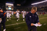 (0029) Mike Shanahan against the San Diego Chargers at Qualcomm Stadium in San Diego, Calif., on...