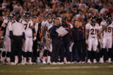 (0032) Mike Shanahan against the San Diego Chargers at Qualcomm Stadium in San Diego, Calif., on...