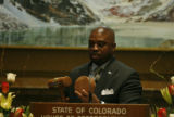 LEG56403 Rep. Terrence Carroll is nominated as speaker of the house as the state legislature kicks...
