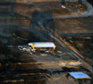A burned out structure  caused by the Neva fire (as seen from Copter 4)  north of Boulder early...