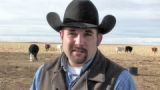 Ben Elliott (cq) of Colorado's Best Beef Company  in a corn field 15 miles south of Wiggins...