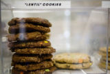 Lentil Cookies are part of the dairy free bakery at East Side Kosher Deli at 499 S. Elm St.,...