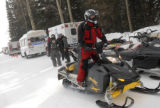 Rescue personnel with Summit County Rescue Group and the Summit County Sheriff's Department, along...