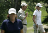 At Cherry Hills Country Club, the US Women's Open participants  practiced for the second day. Mike...