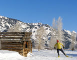 Cross-country skiing is a popular activity at Jackson Hole Mountain Resort. Photo: Lucas J....