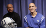 NY182 - ** ADVANCE FOR WEEKEND EDITIONS, FEB. 9-10, -- FILE -- **   Indianapolis Colts head coach...