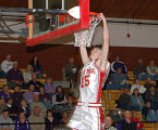 Yuma big man Justin Coughlin goes up for a dunk in a game during the 2007-08 season. Dave...