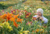 Sabine Baur at Mountain View Gardens in southeast Denver, a display garden of the Mile High...