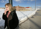 in front of Castle View HS in Castle Rock, Colo.Friday, February 8, 2008. There were unconfirmed...