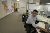 German Zarate (cq) answers questions about foreclosures for the spanish speaking, Friday morning,...