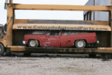 DM0216   Pablo Alcala's 1981 Chrevolet pick-up gets crushed at Colorado Auto & Parts inn...