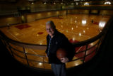 MJM298   Former star point guard of the 1943 University of Wyoming NCAA basketball champions,...