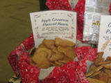 Dog treats from Pooch Pastery Shop. (Joyzelle Davis/Rocky Mountain News)