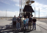A LASP research team is at the White Sands Missile Range for the April 10 sounding rocket launch...