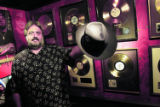 The Hard Rock Cafe is hosting a mobile tour featuring 50 years of rock memorabilia. The bus...