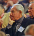Mike Farrell (cq) former star of MASH as B. J. Hunnicutt (cq) listens to 60th Conference on World...