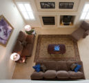 "(Arvada, Colorado, April 11, 2008) Family room.  ""After"" images for house-staging at..."
