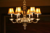 Lighting is a big part of the atmosphere in the Ritz -Carlton Suite, Thursday morning, March 27,...